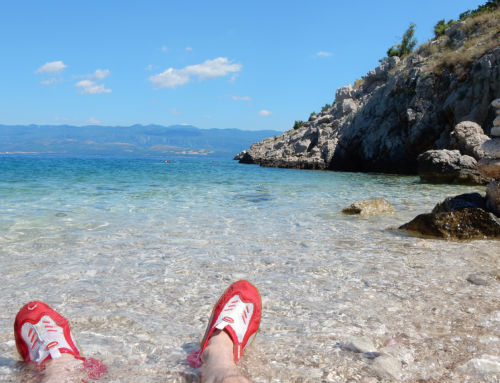 Spiaggia Potovosce – Vrbnik (Croazia)