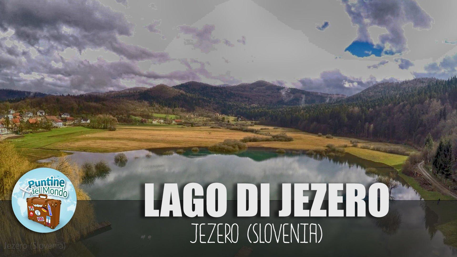 Lagi di Jezero in Slovenia in Camper