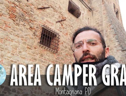 Castello di San Zeno ed Area Camper Gratuita – Montagnana PD