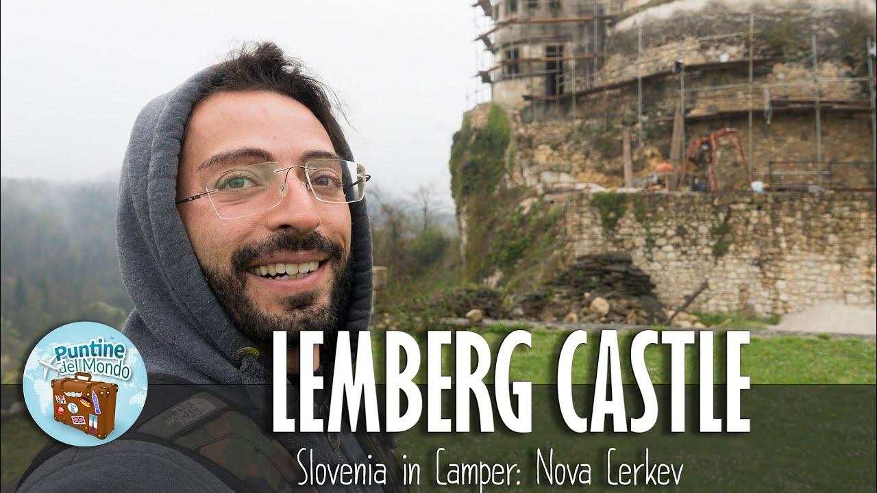 Castello di Lemberg a Nova Cerkev Slovenia in Camper