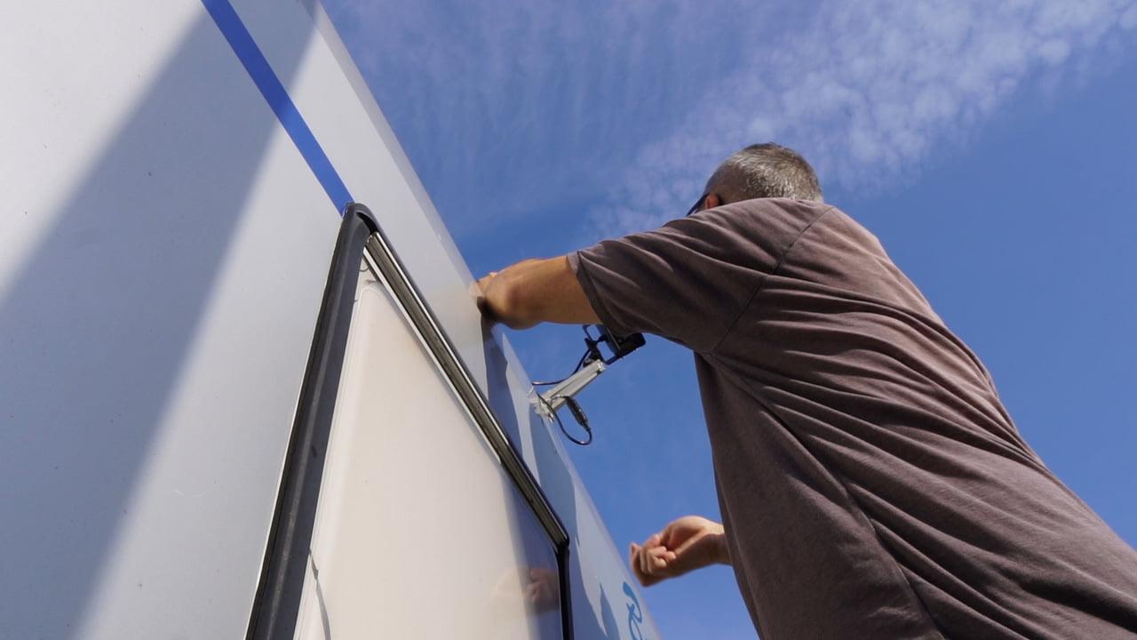Recensione retrocamera professionale per camion e camper Haloview MC7611 1080P