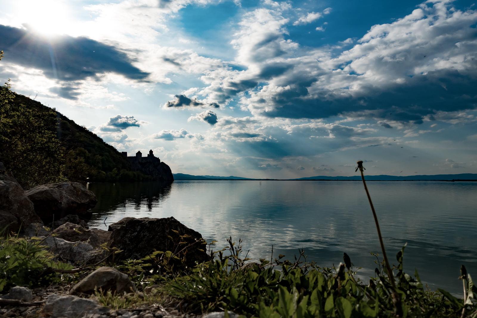Fortezza di Golubac in Camper e Danubio in Camper