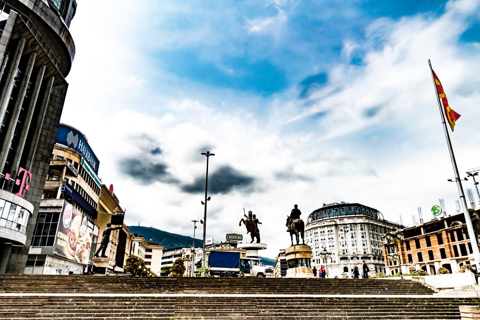 Skopje Macedonia in Camper cosa vedere