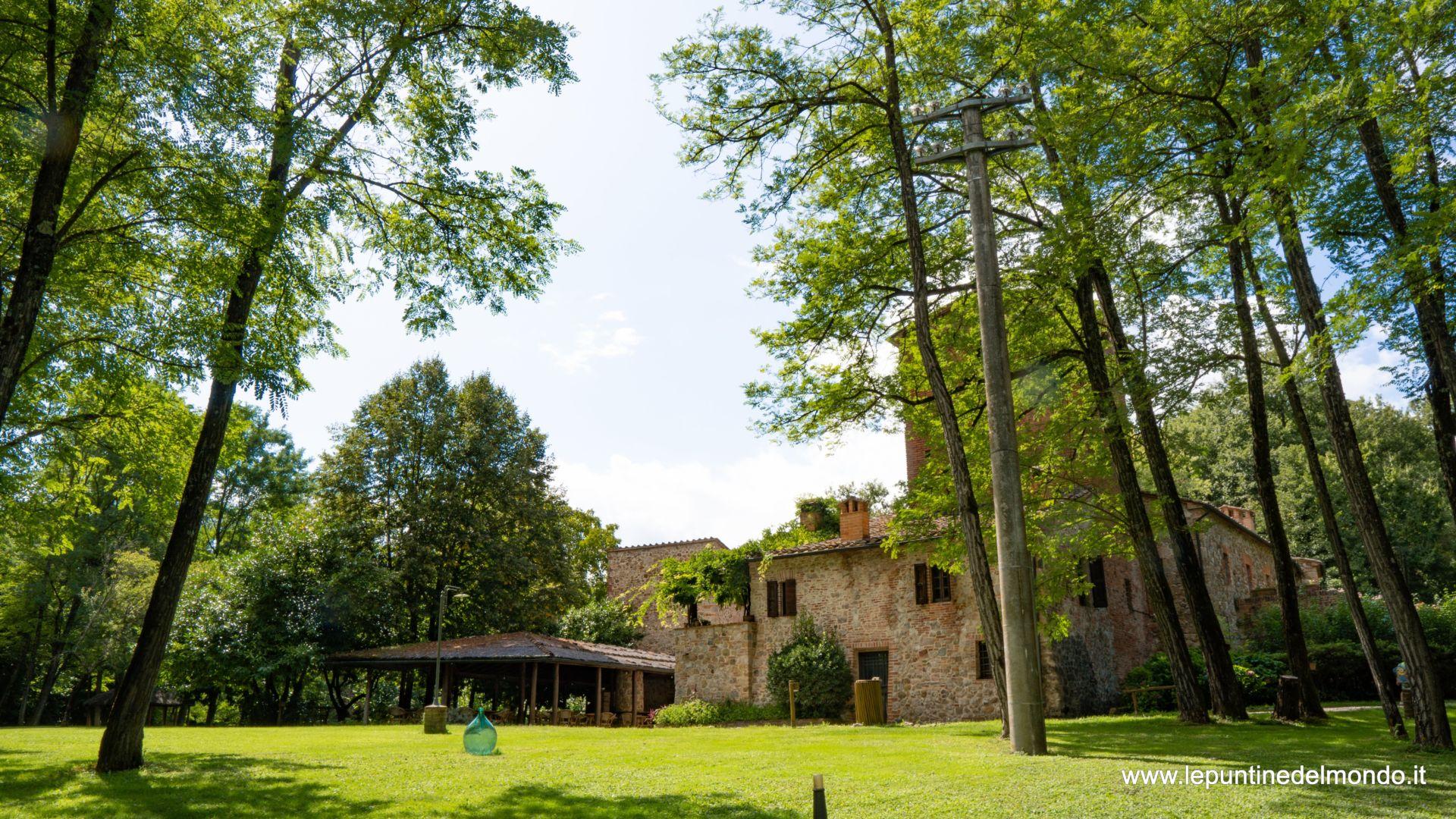 La casa del Mulino Bianco Chiusdino SI Siena Toscana