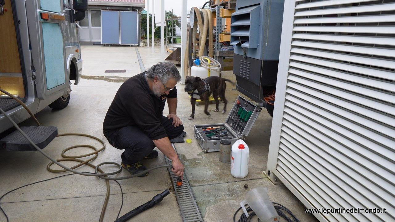 blocco riscaldamento alde compact 3000 termosifoni radiatori camper