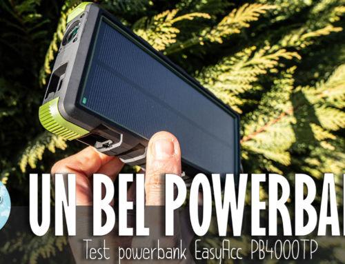 Powerbank con pannello solare da 24 000 mAh EasyAcc PB4000TP