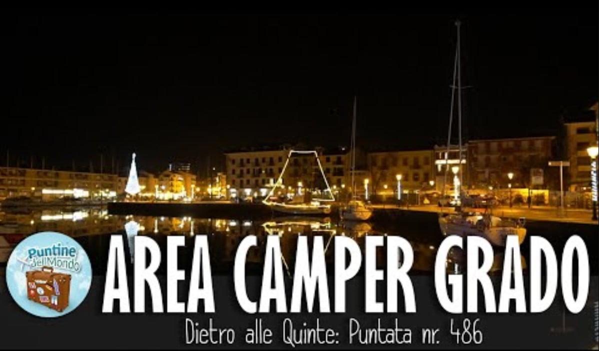 Area Camper gratuita Grado GO Gorizia Friuli Venezia Giulia