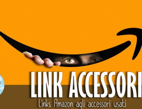 Accessori presi su Amazon