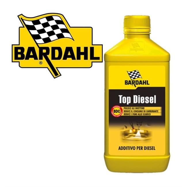 Addittivo pulizia motore iniettori prestazioni auto camper bardahl top diesel